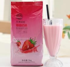 速溶草莓奶茶粉果味饮料